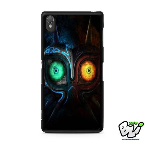 Adventure The Legend Of Zelda Majora Sony Experia Z3,Z4,Z5,C3,C4,E4,M4,T3 Case,Sony Z3,Z4,Z5 MINI Compact Case