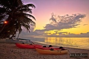 Sunrise in Ambergris Caye, Belize.... REALLY great blog regarding  destination tourism in Belize
