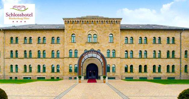 99€   -42%   #Harz – 3 Tage #Luxusurlaub im 4-Sterne #Schlosshotel inkl. #Therme