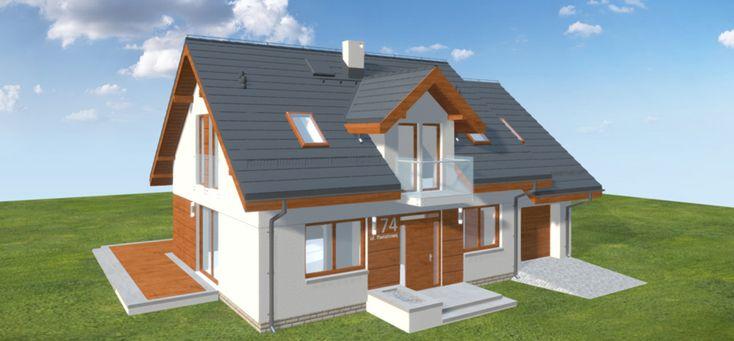 Projekt domu Kendra XS 111,71 m2 - koszt budowy - EXTRADOM