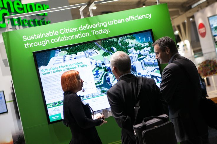 Smart City Expo World Congress 2013 - Stand Schneider Electric