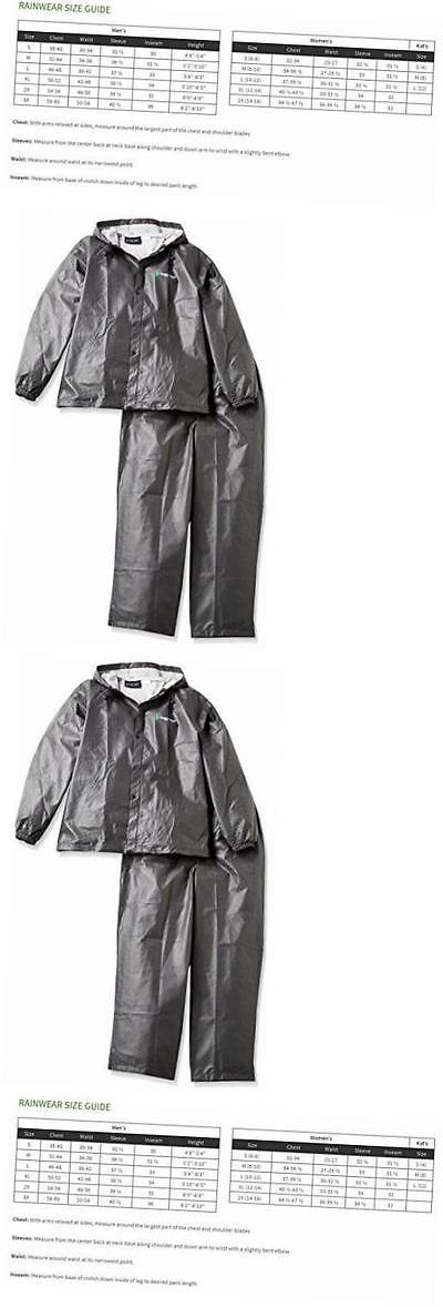 Jacket and Pants Sets 179981: M L Black Frog Togs Pro Lite Rain Gear Suit Wear Pl12140-01M L -> BUY IT NOW ONLY: $33.26 on eBay!