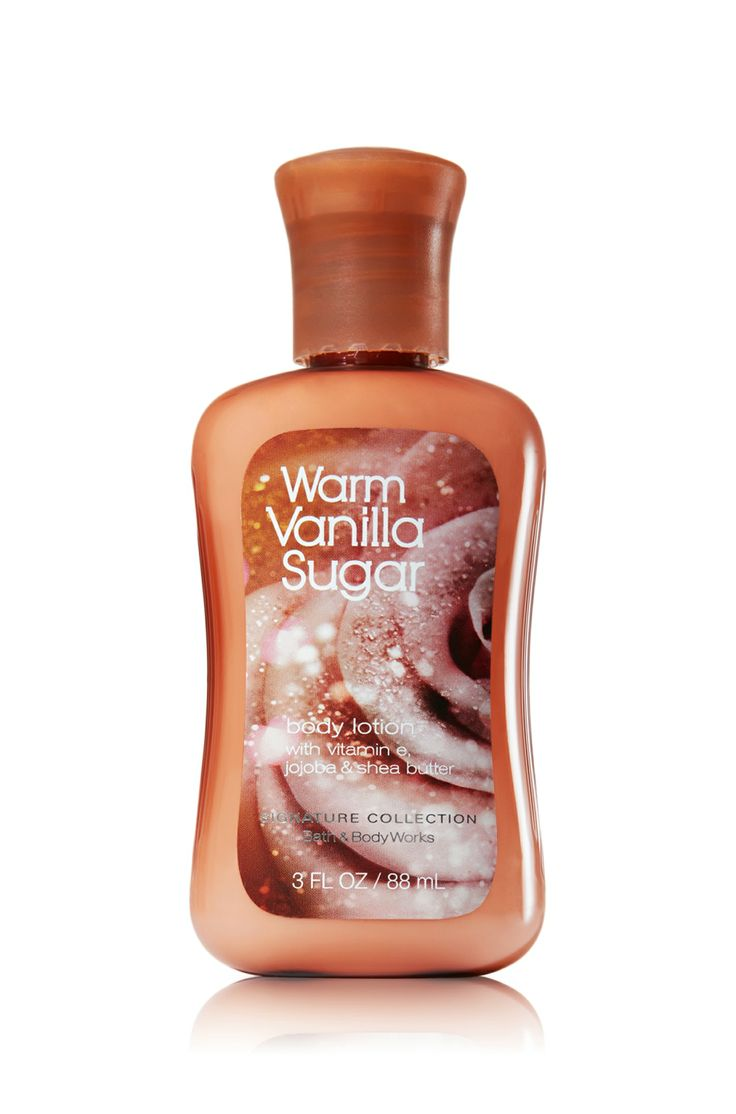 Warm vanilla sugar travel size body lotion signature for Bathroom body works