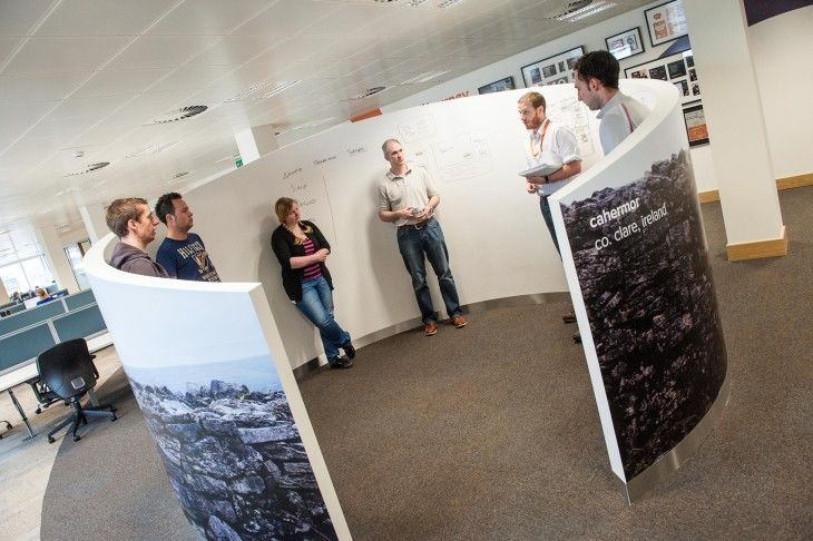 Dublin's coolest tech offices —and the coolest meeting spaces! (Via The Next Web)