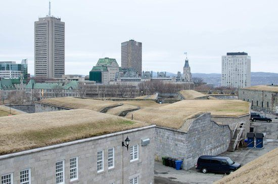 Tire canon citadelle Quebec | View of the fortress - Picture of Fortifications of Quebec National ...