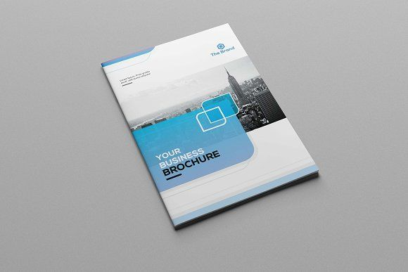 corporate bifold brochure by greenpixi on creativemarket sponsored