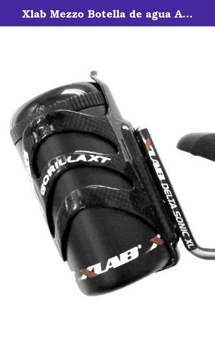 Xlab Mezzo Botella de agua Almacenamiento Pod, Negro. Microfleece Bag Waterproof Versatile Mounting Multi-storage Carrier Anti-launch Design.