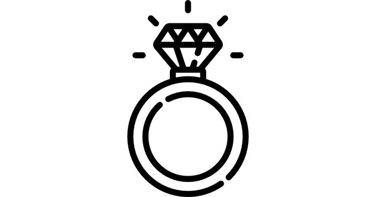 Diamond ring free vector icons designed by Freepik in 2020