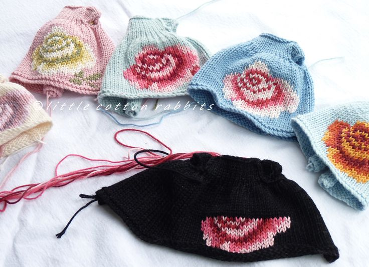 25+ best ideas about Little Cotton Rabbits on Pinterest Knitted bunnies, Kn...