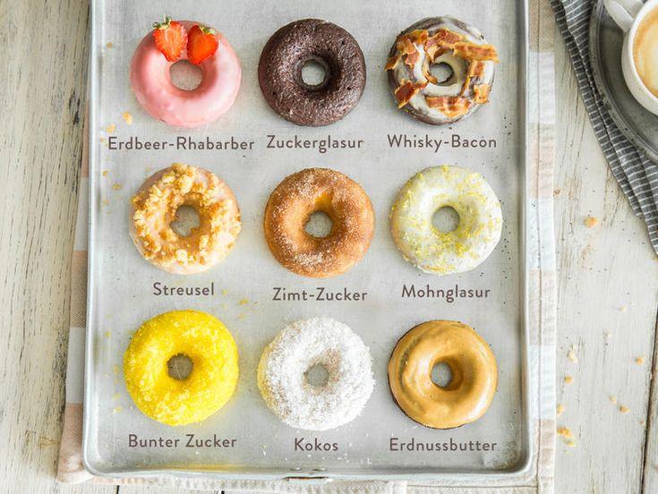 donuts selber machen so backst du deine lieblingskringel rezept kuchen torten pinterest. Black Bedroom Furniture Sets. Home Design Ideas
