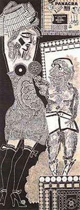 Antonio Berni, Ramona y el viejo, 1962