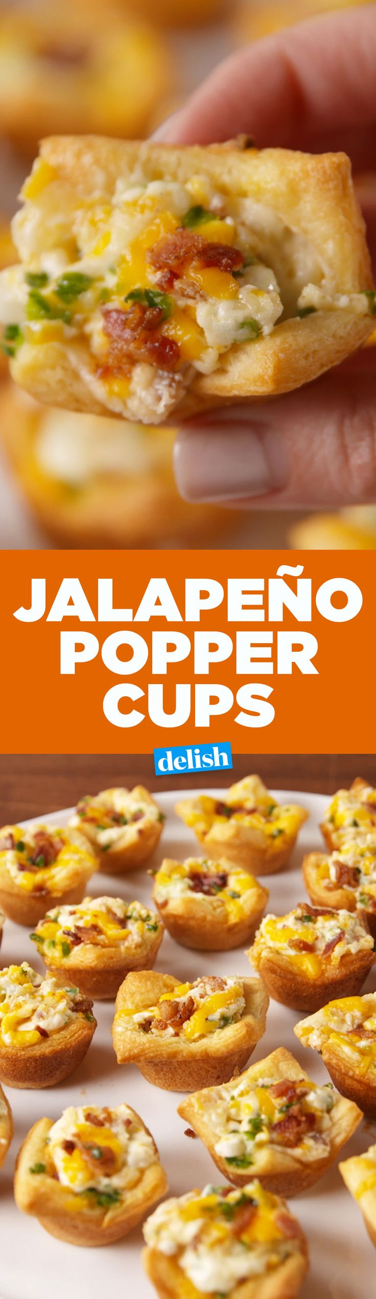You can't have just one of these Jalapeño Popper Cups. Get the recipe on Delish.com.