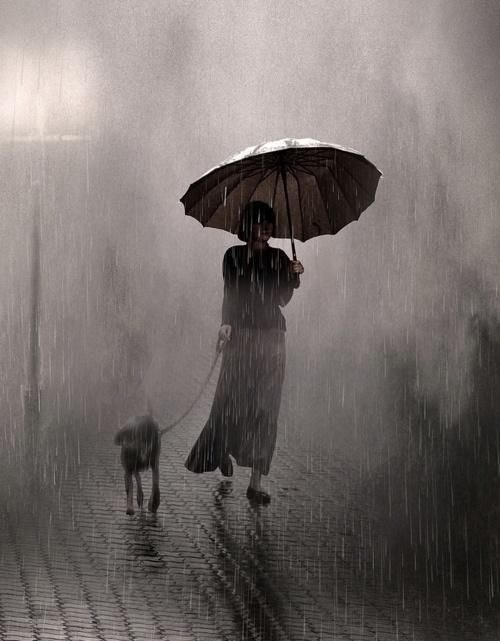 Ακόμη και στη βροχή...