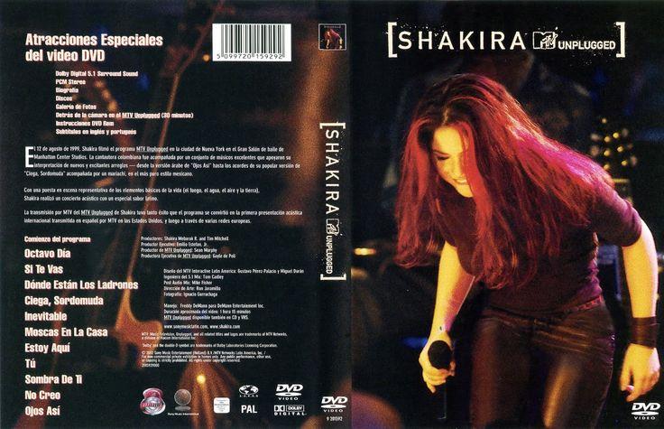 Shakira mtv unplugged dvd ntsc