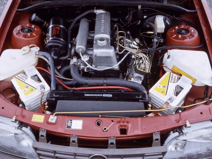 Engine Opel Rekord Turbo Diesel E2. Opel, Engineering, Turbo