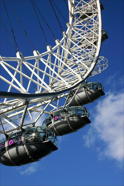 Writing Prompt: You have a slight fear of heights, but a friend talks you into going on a ride on the London Eye. Describe your ride.