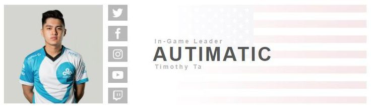 Autimatic is listed as Cloud9's In-Game Leader on their website. Is this a mistake or has something changed? #games #globaloffensive #CSGO #counterstrike #hltv #CS #steam #Valve #djswat #CS16