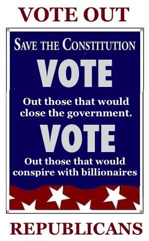 Republicans.  VOTE the TEA BAGGING GOP OUT in NOV!