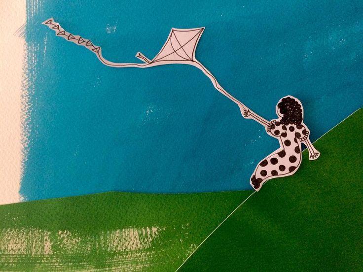 Wind #illustration #illustratorsoninstagram #art #artstagram #artoftheday #creativityfound #creativity #create #collage #drawing