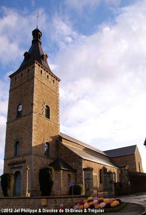Église St-Pierre, à Maroué.