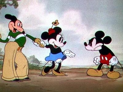 Mickey Mouse's original name was Mortimer Mouse. Mortimer's name was originally meant for Mickey Mouse but Walt Disney's wife Lillian thought the original name made Mickey seem pompous. Years later, the name was used for a new character created to be a rival for Mickey.