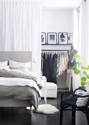 chambre avec dressing walk-in