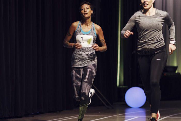 LöPning Med Icona Pop Och Nike