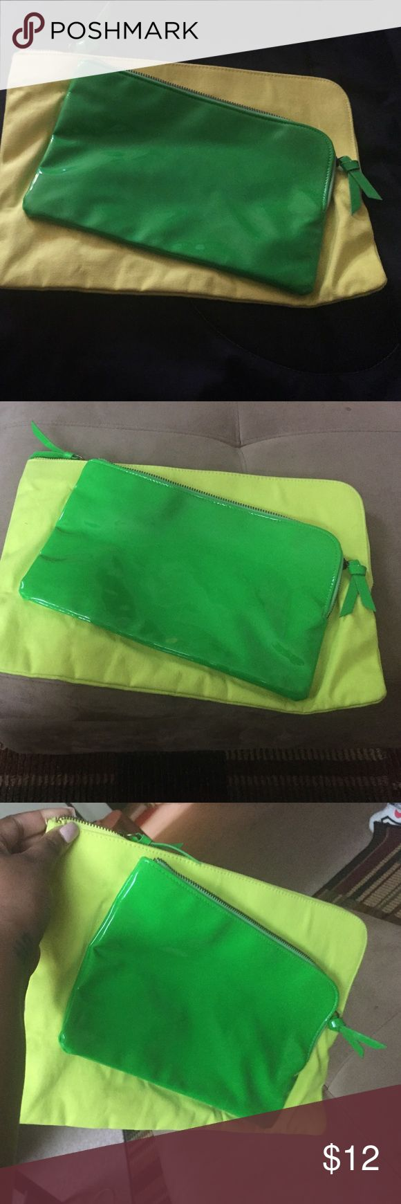Green clutch NEW green clutch Bags Clutches & Wristlets