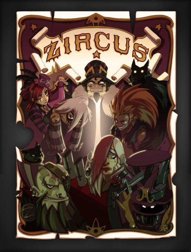 Affiche Zircus ♠ Eredan ITCG