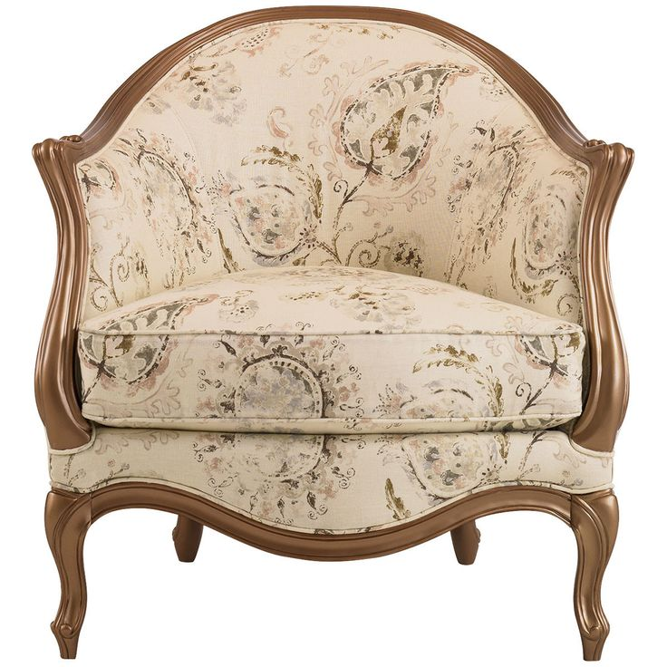 A French Inspired Chair For The Contemporary Traditionalist, With Beautiful  Curves That May Be