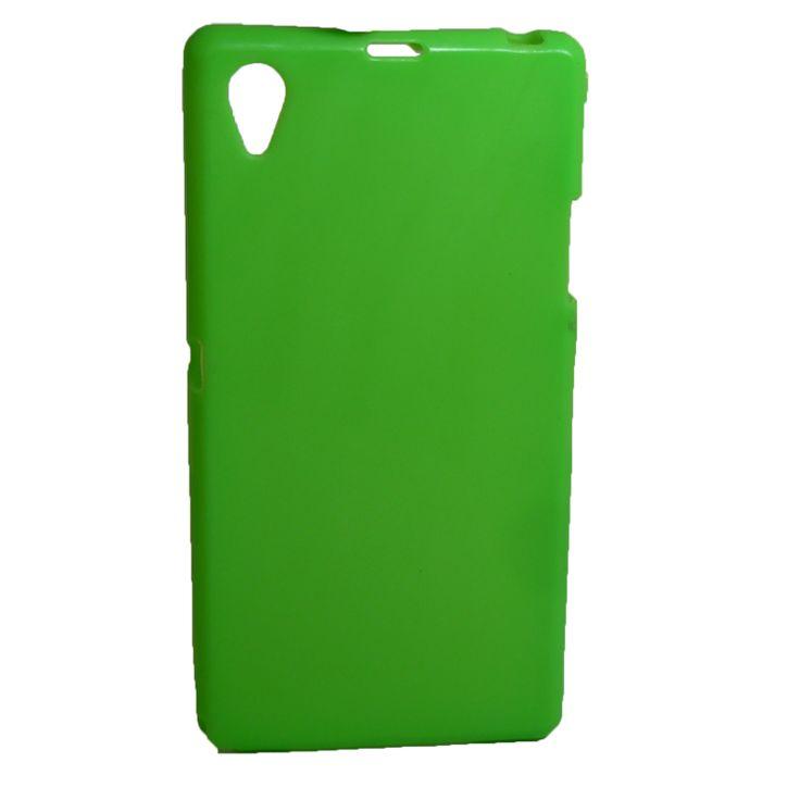 Θήκη σιλικόνης για Sony Xperia Z1 πράσινη http://mikromagazo.gr/_p831.html