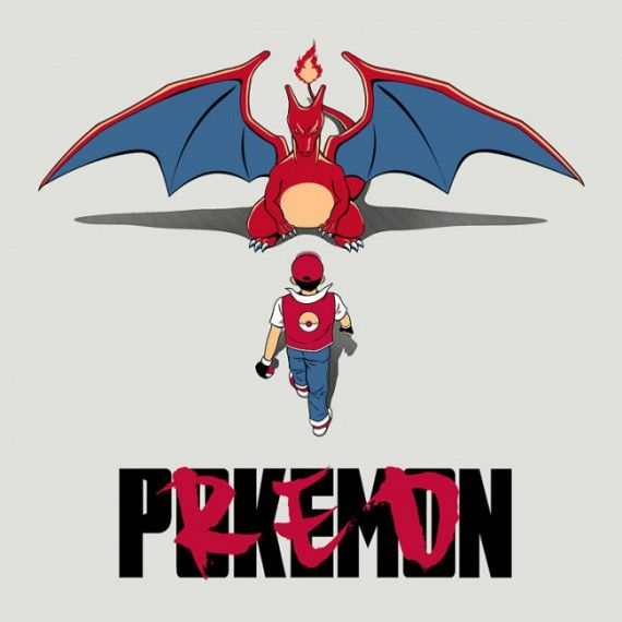 Parodie affiche Akira - Pokémon