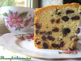Through My Kitchen Window: A Good Sultana Cake • CWA Australia recipes