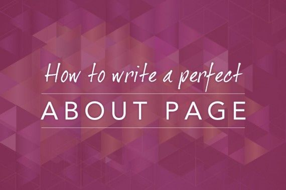 write-the-perfect-about-page