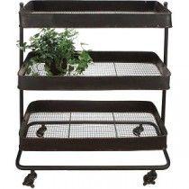 Plant Cart | Serving Cart | Kitchen Utility Cart