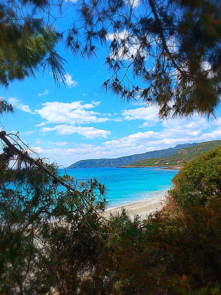 Beaches of Kardamyli, The Mani, Greece
