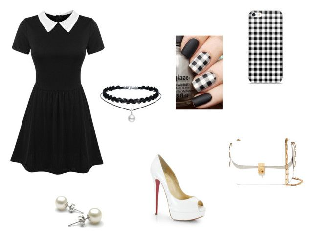 """""""Untitled #18"""" by xcon27x on Polyvore featuring Christian Louboutin and Valentino"""