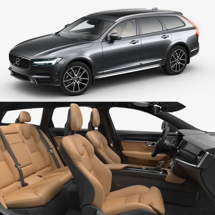 """V90 Cross Country Osmium Grey V90 Cross Country Pro, D5, Polestar optimisation, fully painted trim, 20"""" 10-spoke rims, styling kit, tinted windows, panoramic roof, Air suspension, Intellisafe Surround, Amber ventilated seats with massage, Black Walnut inlays, Bowers & Wilkins stereo, 4 zone climate ++"""