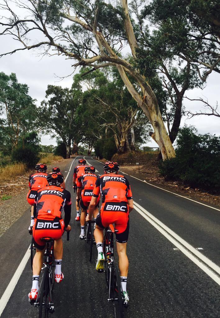 B.M.C riding near Adelaide