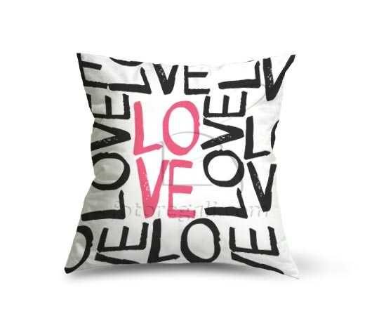 Cuscino dainetto Love words