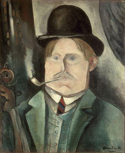 Self-Portrait (1911) by Maurice Vlaminck (flikr)
