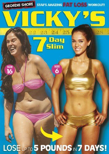 Vicky Pattison's 7 Day Slim [DVD]: Amazon.co.uk: Vicky Pattison: DVD & Blu-ray