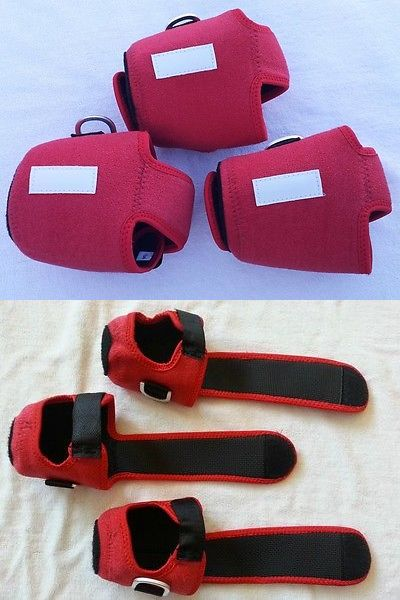 Reel Cases and Storage 179998: 3 Custom Reel Cover Size M For Accurate Bx 500 Avet Lx Daiwa Shimano Reel Red -> BUY IT NOW ONLY: $33.99 on eBay!