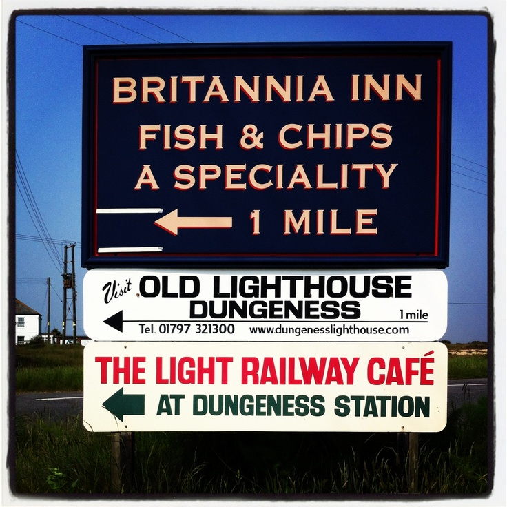 Signs, Dungeness