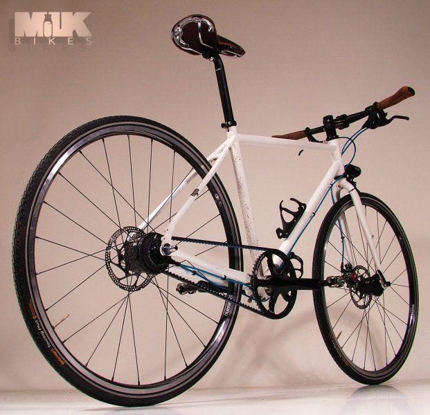 Milk Bikes of Chelmsford, England  (http://www.milkbikes.com/)    Ultra-low maintenance bikes that don't need that much lovin'