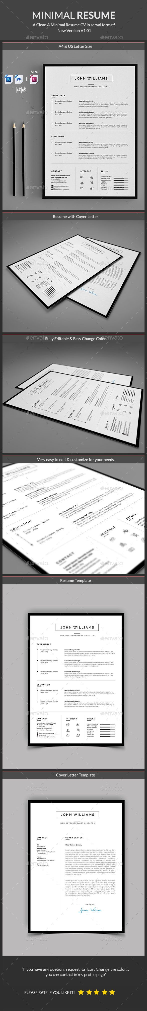 Buy Resume by Classicdesignp on GraphicRiver This