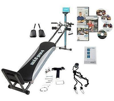 Home Gyms 158923: Total Gym Platinum Plus W 8 Attachments And 4 Dvds -> BUY IT NOW ONLY: $269.95 on eBay!