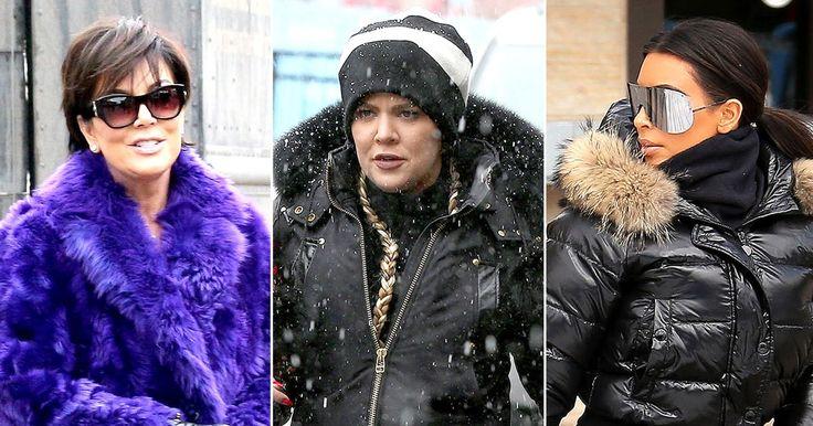PICS: Kardashian-Jenner Clan Go Skiing Without Newly Engaged Rob #loveskiing