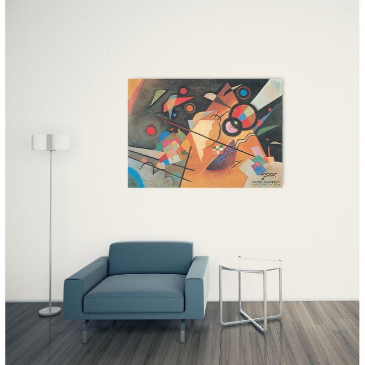 KANDINSKY - Punta Gialla, 1924 100x70 cm #artprints #interior #design #art #print #iloveart #followart #artist #fineart #artwit  Scopri Descrizione e Prezzo http://www.artopweb.com/autori/wassily-kandinsky%20/EC16080