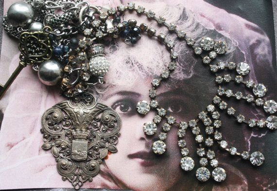 Antique Assemblage Vintage Assemblage Assemblage by IRISHTREASURE
